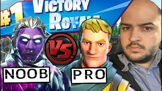 I USE THE DEFAULT SKIN AND WIN 5 FORTNITE MATCHES!