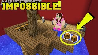Minecraft: IMPOSSIBLE TO SEE WATER CHESTS!!! - Chunk Sized Find The Button - Custom Map