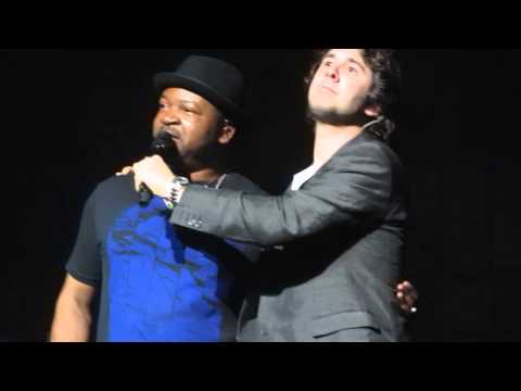 Josh Groban saying hello to Brussels (12 June 2013)