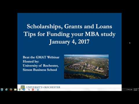 Scholarships, Grants & Loans: Tips for Funding Your MBA - We