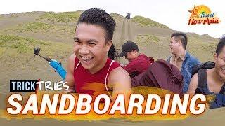 PAOAY SAND DUNES (Ilocos Norte)   Travel with BANINAY   TrickTries 4x4 & Sandboarding   TricksterzPH
