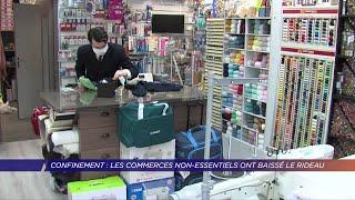 Yvelines | Les commerces non-essentiels ont baissé le rideau