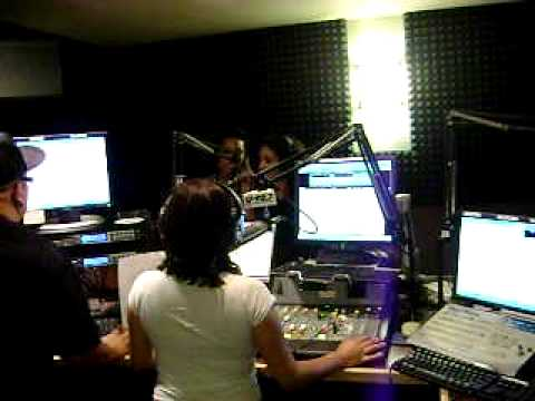 The Bangz on air interview with Letty at U 92.7 in Palm Springs