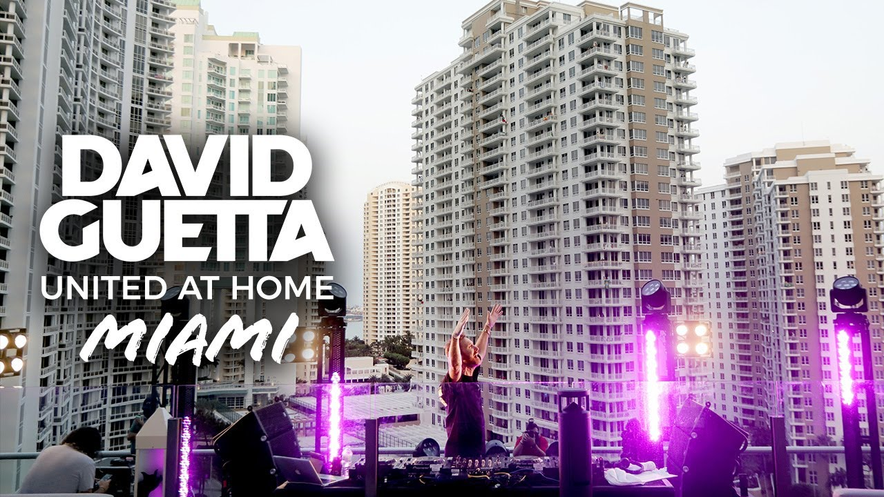 Download David Guetta | United at Home - Fundraising Live from Miami #UnitedatHome #StayHome #WithMe