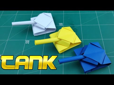 Origami War Tanks | How to Make Paper Tank Battle Tutorials | DIY Easy Craft Toy Kids