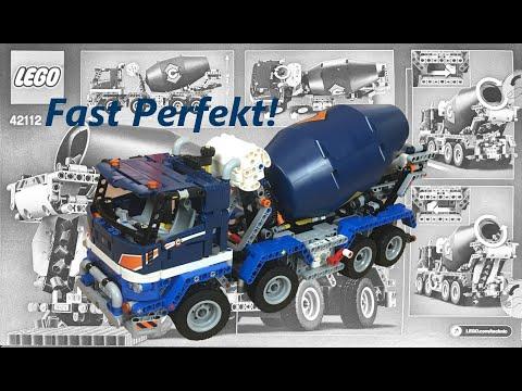 Lego Technic 42112 Betonmischer - Speedbuild