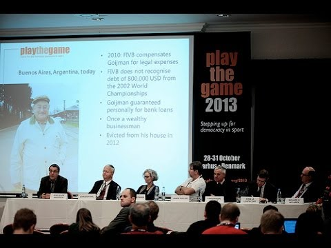 Play the Game 2013: Sports reform: How to change the tone at the top?