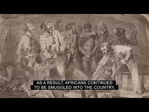 What was the effect of the embargo act passed by congress in 1807