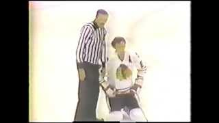 Bobby Orr (BOS) Sucker Punches Stan Mikita (CHI)