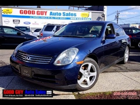 2004 Infiniti G35x Sedan Awd Youtube
