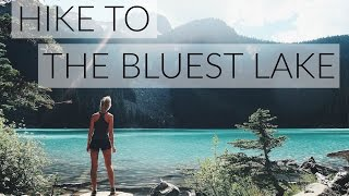 Hike To The Bluest Lake | Jofree Lakes