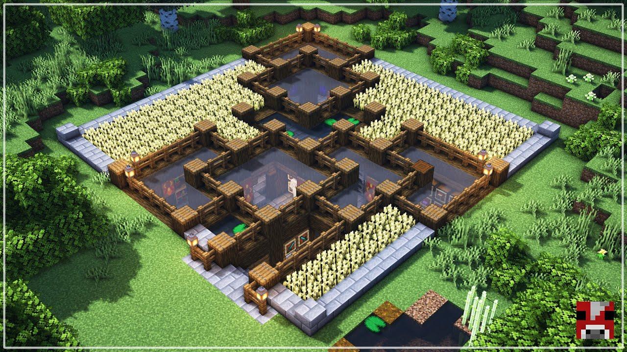 Underground Survival Base | Minecraft Timelapse