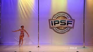 Emilia Moskalenko - IPSF World Pole Championships 2018