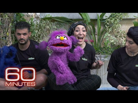 The new Muppets for Sesame Workshop's show aimed at Syrian refugee children