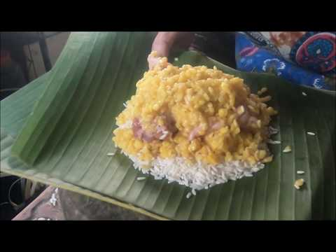 Banh Chung or Vietnamese Square Sticky Rice Cake - Asian Food