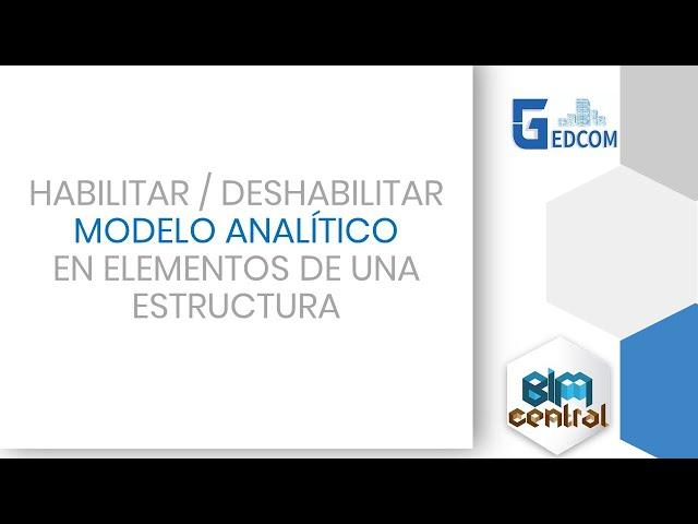 Deshabilitar el modelo analítico de Revit con Dynamo