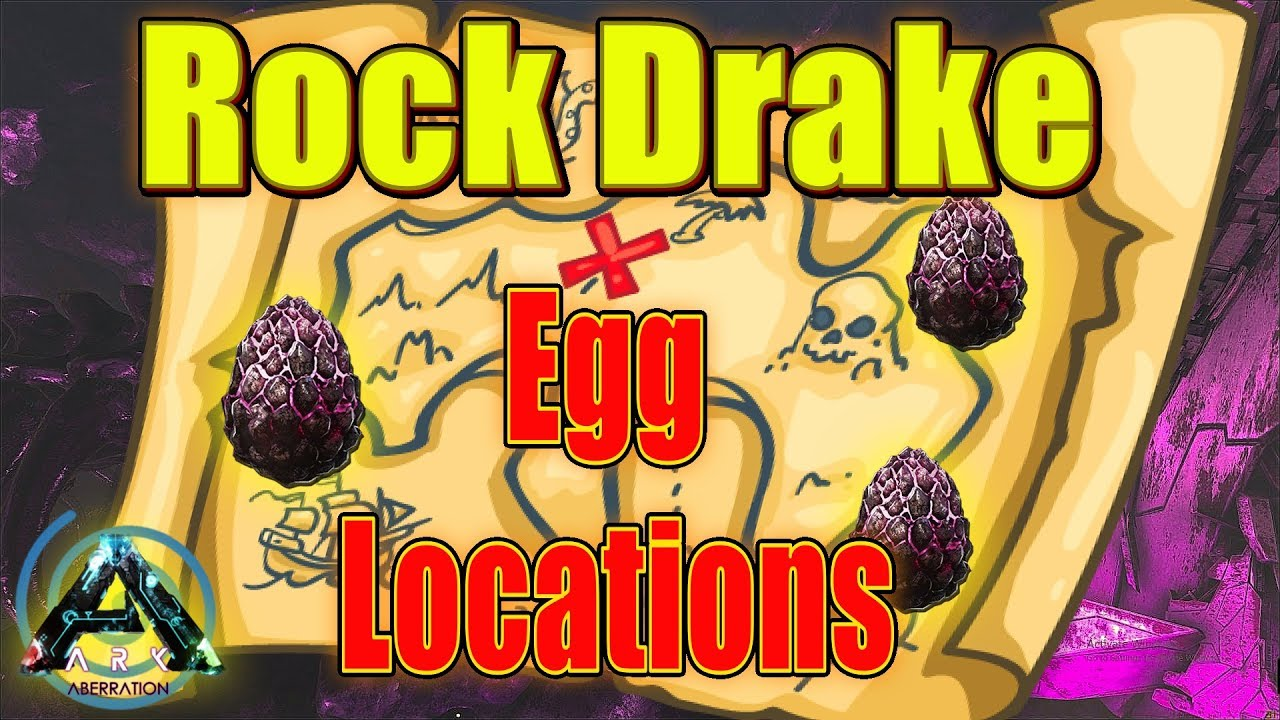 Rock Drake Egg Spawn Locations in Ark Aberration: A Guide and How to find  Rock Drake Nest and Eggs