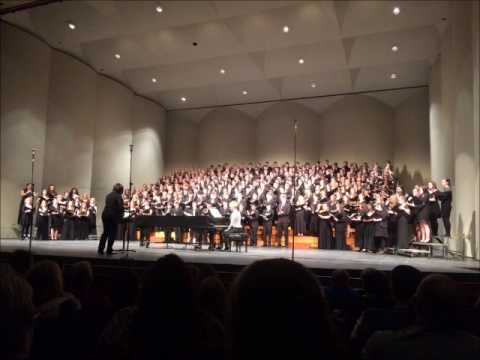"""Luminescence"" by Andrea Ramsey, Sang by the All-State KMEA Choir"