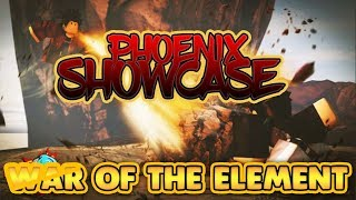 Phoenix SHOWCASE War of the Elements | ROBLOX