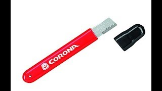 How to Sharpen Pruner or Lopper with Corona AC 8300 Sharpening Tool
