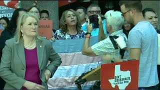 Texas 'Bathroom Bills': Protesters Flood Statehouse Against Bills
