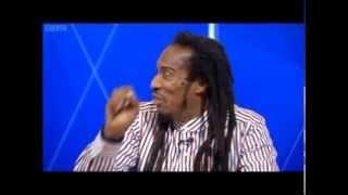 Benjamin Zephaniah on Boris Johnson, Question Time, 12/10/12