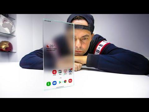 isto é o futuro dos smartphones.... MAS NÃO COMPRES JÁ o PRIMEIRO no MUNDO