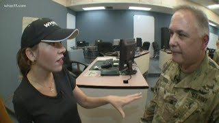WHAS11's Lisa Hutson talks with Ky. National Guard officials