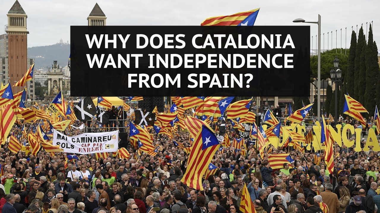 why does catalonia want independence from spain youtube