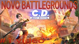 Playing Creative Destruction. just like FortNite #1 video
