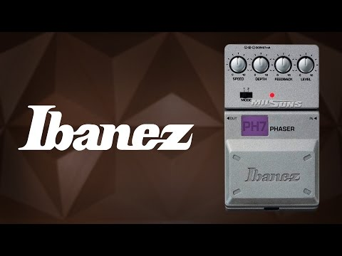 Ibanez  Review Pedal Phaser Ph7