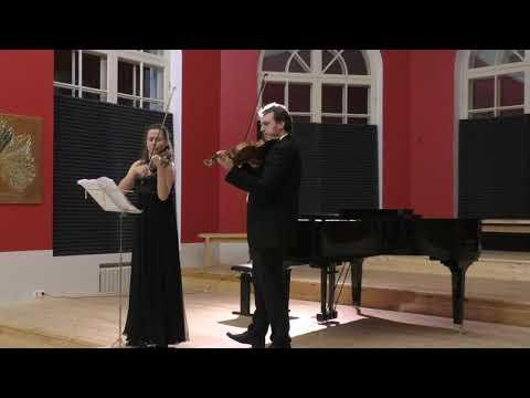 Maryana Osipova (violin), Dmitry Hahalin (viola) | Bach, Bartok
