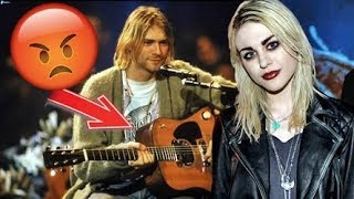 La hija de Kurt Cobain perdió la Guitarra mas valiosa de su Padre