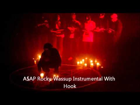 A$AP Rocky-Wassup Instrumental With Hook