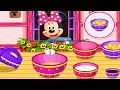 Minnie Mouse Cupcakes ♥ Mickey Mouse Games ♥  Cooking Games for Kids