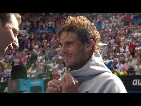 Don't Mess With Rafael Nadal's Bottles   Australian Open 2015