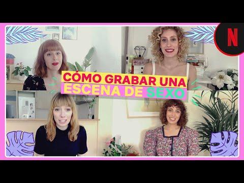 Cómo se graba una escena de sexo, con Diana Gómez y el cast de Valeria