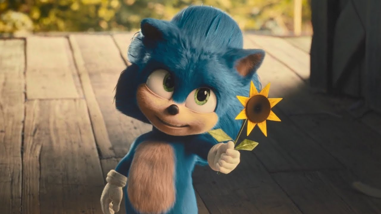 Sonic The Hedgehog Opening Scene Baby Sonic And Longclaw Youtube