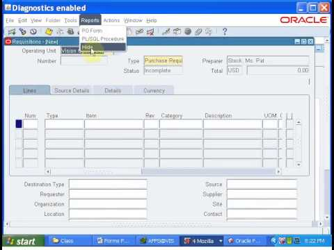 Oracle Apps Tutorial-19:Forms Personalization