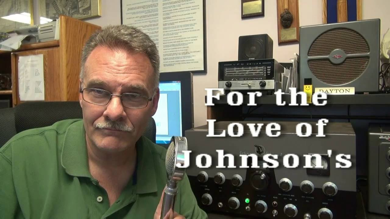 How To Add Ptt Johnson Viking Ii Ham Radio Tube Transmitter Circuit Diagram Youtube