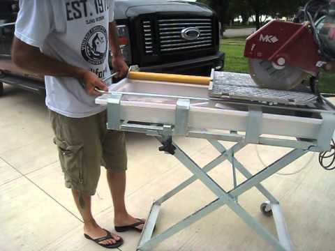 Mk 101 24 Pro Tile Saw Review