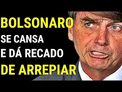 DE ARREPIAR! Jair Bolsonaro manda recado espinhoso e surpreende os brasileiros