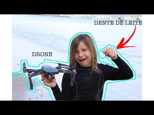 TIREI O MEU DENTE DE LEITE COM O DRONE! - Aris.TV, Ep. 71