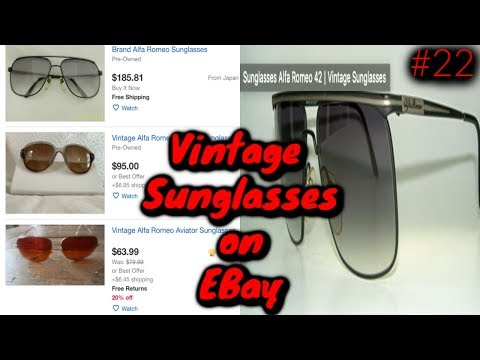 huge discount latest design get new Vintage & Retro Sunglasses on Ebay sell for BIG PROFITS ...