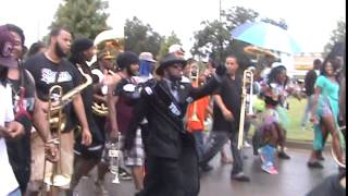 YMO 130th annual second line: Big Steppers Division with Stooges Brass Band