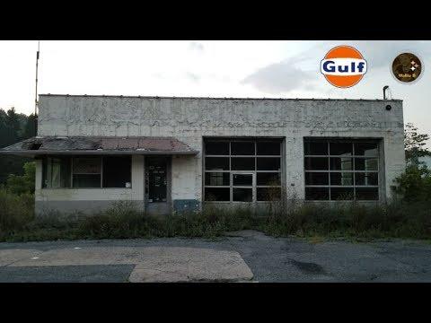 Abandoned Gulf Gas Station Schellsburg, PA