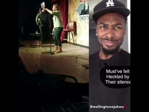 Comedian From Arkansas Goes crazy after Failed jokes in Atlanta