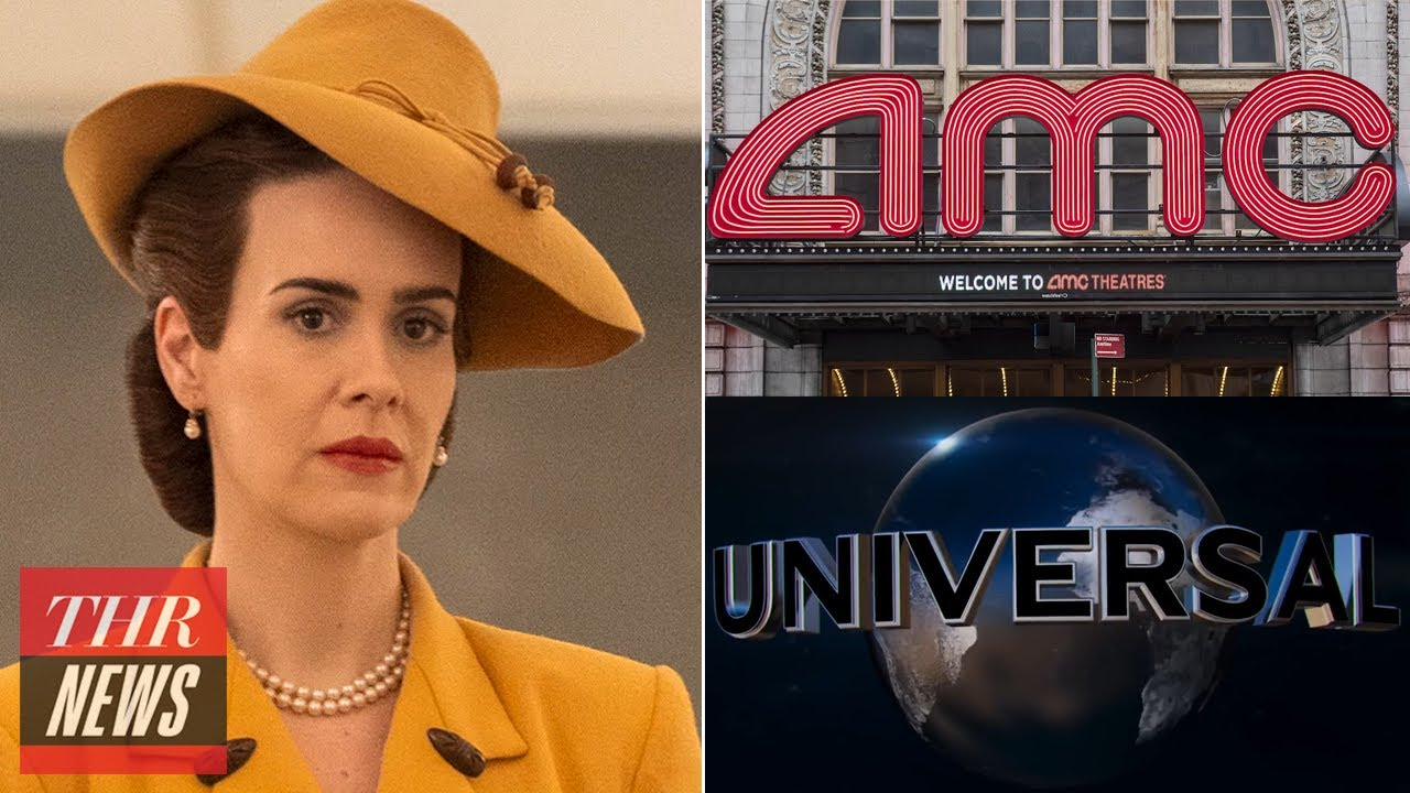 First Look at Sarah Paulson in 'Ratched', AMC Theatres & Universal Make Historic Deal | THR News