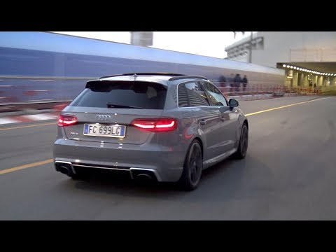 LOUD Audi RS3 Sportback 8V Exhaust Compilation!