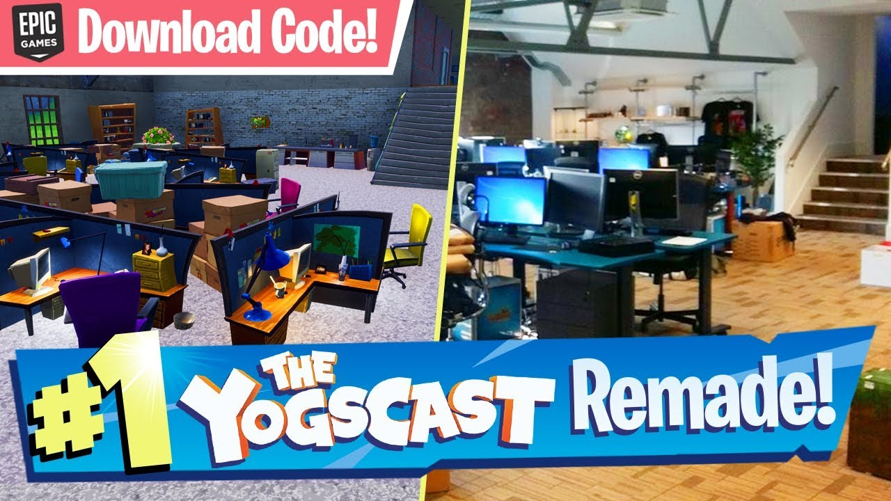 Yogtowers Remade In Fortnite W Download Code Creative Map Youtube